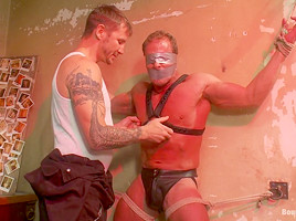 BoundGods : The Creepy Janitor and Another Bodybuilder