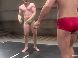 NakedKombat Colby Keller vs Dakota Rivers The Mud Match