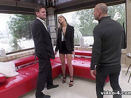 Alexis Crystal & Mike Angelo & Yanick Shaft in Squirting Alexis' Monster DP Threesome - RoccoSiffredi