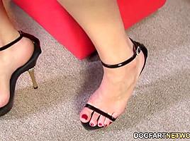 Foot Fetish Sex With Black Cock Slut Sierra Sanders