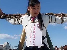 Horny Japanese slut Kana Mimura, Rin Yamaki in Fabulous Fetish, BDSM JAV movie