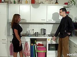 Susanne B in StepMom is a treat - MMVFilms