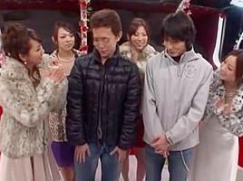 Amazing Japanese whore Mirei Yokoyama, Misa Yuuki, Reiko Nakamori in Best Handjobs, Cumshots JAV clip