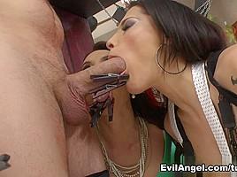 Franceska Jaimes & Nikita Bellucci & Rocco Siffredi in Rocco's Perfect Slaves #05 Movie