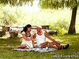 Dolly Diore in Of Picnics and Old Cocks Video