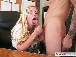 Nikki Benz & Richie Black in Naughty Office
