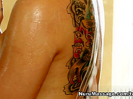 Rilynn Rae, Vanessa Veracruz in Not A Nuru Virgin Scene