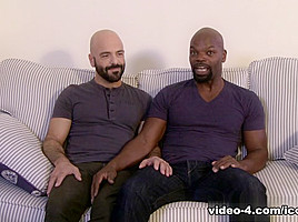 Adam Russo & Cutler X in Real Couples Bareback Video