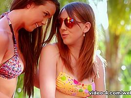 Dillion Harper & Nickey Huntsman in Sharing Sisters Video