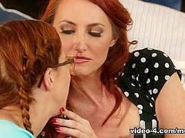 Penny Pax & Kendra James in Just To Fit In Video