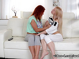 Olivia Grace & Nikky in We Love Ass Play Video