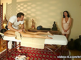 Chloe Amour & Veronica Avluv & Steven St. Croix in My Mom Suggested I Come Video
