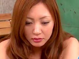 Dazzling scenes of threesome sex with Mio Kuraki