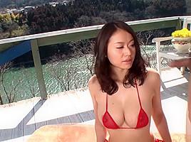 Best Japanese chick Kaede Niiyama in Crazy JAV uncensored Threesomes video