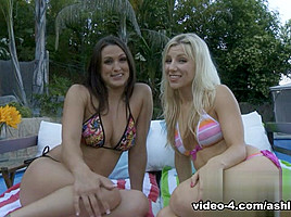 Ashley Fires & Misty Anderson in Skinny Dipping Video
