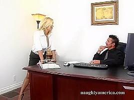 Shyla Stylez & Tommy Gunn in Naughty Office