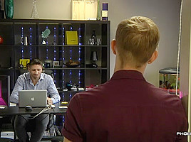 After Hours Office Cock - Craig Daniel And Jaxon Radoc - PhoeniXXX