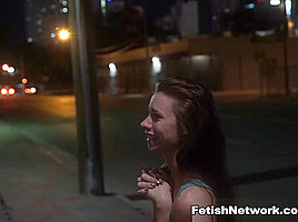 Anya Olsen Brutal Pick-Ups Face Fuck Fence - BrutalPickups