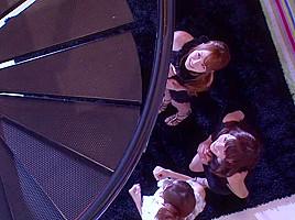 Yuma Asami, Miku Ohashi, Rin Sakuragi in THE PREMIUM VIP aka 5th Anniversary Memorial Special part 3.1