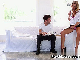 Tanya Tate in Hot Teacher - PureMature Video