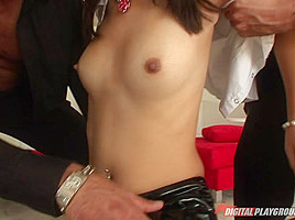 Evelyn Lin, Marco Banderas & Scott Nails in Cockasian, Scene 3