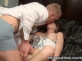 Luke Hardy & April Blue in Seductive April Blue - PureXxxFilms