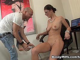 Victoria Love in Teacher Gave Me An F #5 - BossyMilfs