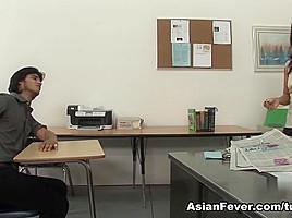 Lucky Starr in Teacher Gave Me An F #4 - AsianFever