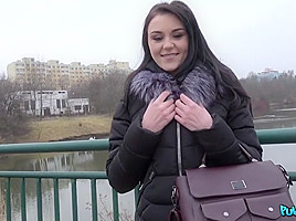 Kiara Gold & Martin Gun in Innocent Russian Takes Thick Big Cock - PublicAgent