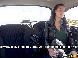 Jolee Love & Michael Fly in Sexy Big Tits German Lusts For Cock - FakeTaxi
