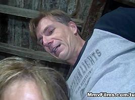 Mature Lady'S Barn Yard Romp Video - MmvFilms