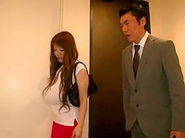 Crazy Japanese chick Hitomi Tanaka in Best JAV censored Bathroom, Big Tits movie