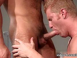 Abraham Al Malek & Johnny V in Filthy Fucks Video