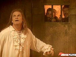 Brea Lynn, Brianna Love & Evan Stone  in Pirates 2, Scene 7