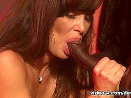 Lisa Ann & Wesley Pipes & D-Snoop & Mark Anthony in The Devils GangBang, Scene #02