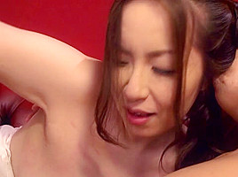Aoi Aoyama in Curvy MILF Aoi Aoyama Fucks On The Couch - MilfsInJapan