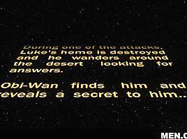Jessy Ares & Luke Adams in Star Wars 1 : A Gay XXX Parody - DrillMyHole