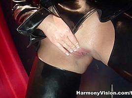 Poppy Morgan & Donna Marie in Gloryhole Anal Sluts - HarmonyVision