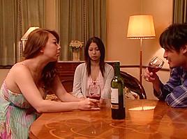 Yumi Kazama, Minami Ayase in Young Wife Ripe Bitch 5 part 2.3