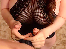 Aoi Aoyama in MILF With Big Tits In Lingerie Gives Amazing Head - MilfsInJapan