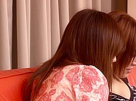 Hottest Japanese chick Sena Ayumu, Aoi Ringo, Anzu Mukai in Crazy skinny, couple JAV clip