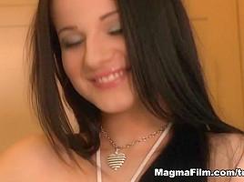 Roxxy X & Kim Blow in Roxxy´s Fantasy: Male Attention Gets Her Wet - MagmaFilm