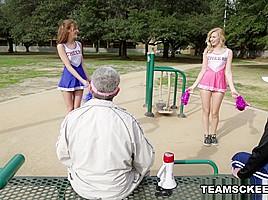 Alexa Grace And Molly Manson in Cheerleaders Pt.1 - TeamSkeet