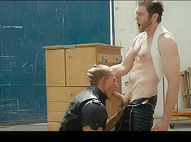 Colby Keller & Landon Mycles in X-Men : A Gay XXX Parody Part 3 - SuperGayHero