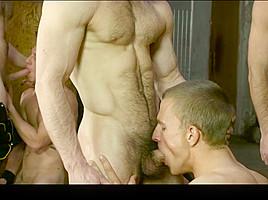 Brenner Bolton & Colby Keller & Landon Mycles & Mike De Marko & Paddy O'Brian & Paul Canon in X-Men : A Gay XXX Parody Part 4 - SuperGayHero