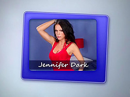 Hot MILF Jennifer Dark Spied On By Horny Step-son