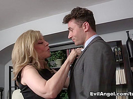 Nina Hartley & James Deen in My Evil Stepson #02 Video