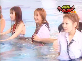 Girls VS Employees Swim Meet-