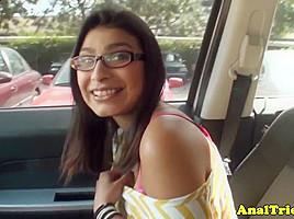 Indian girlfriend Miya Stone assfucked