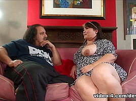 Kelly Shibari,Ron Jeremy in Your Mom's Hairy Pussy #14, Scene #01